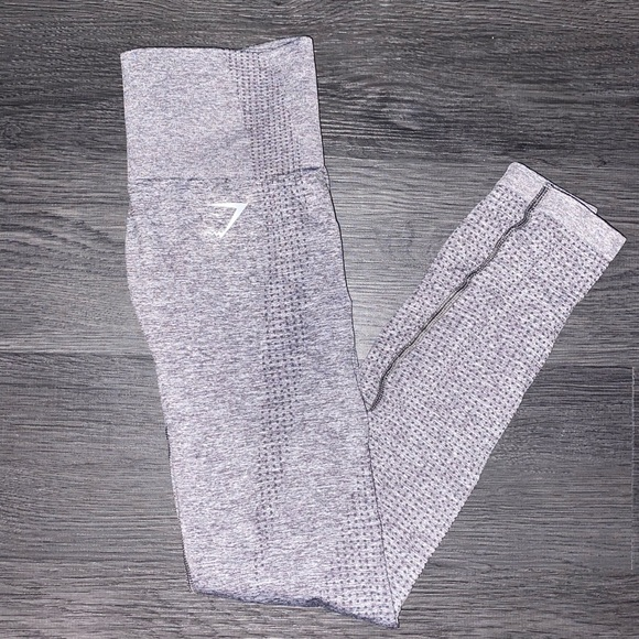 Gymshark Other - Gymshark leggings smoky gray mark XS